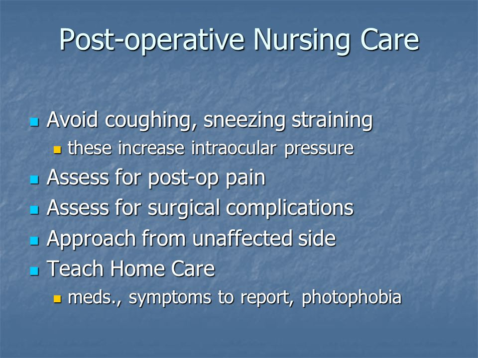 nursing care of clients with eye and ear disorders ppt