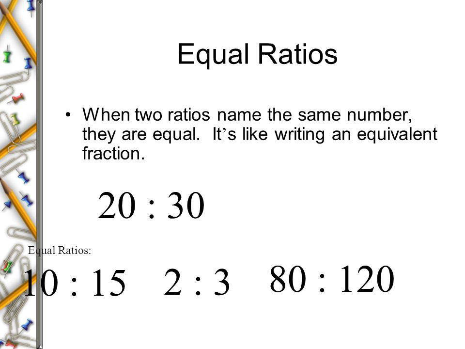 how to do ratios pdf