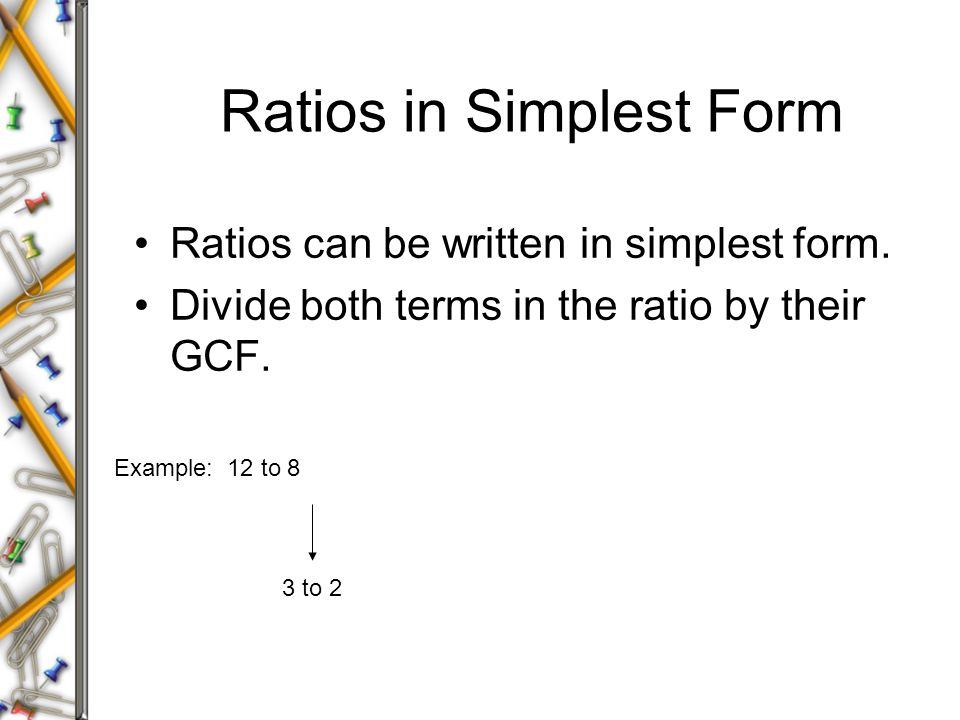 Ratios and Unit Rates Lesson 6-1 & ppt video online download