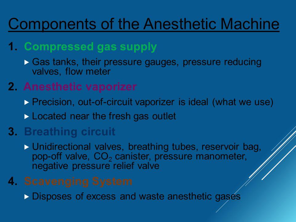 anesthesia circuit types
