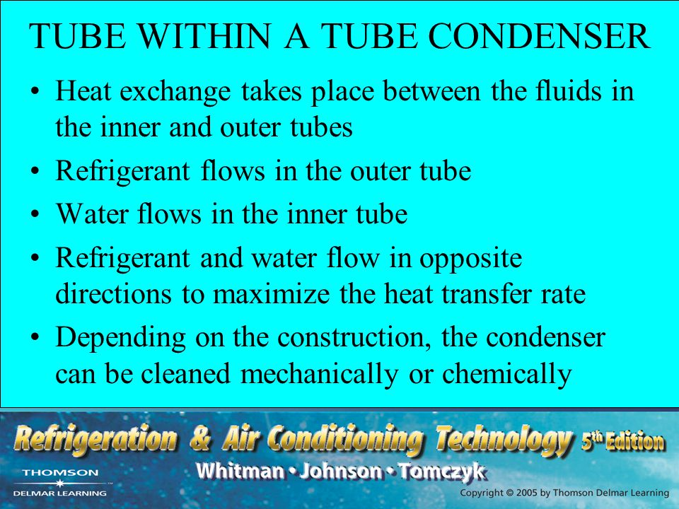 TUBE WITHIN A TUBE CONDENSER