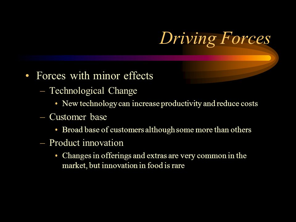 what forces are driving industry change and what impacts will they have Healthcare forecast 2017: top trends driving board strategic priorities by steven t valentine and guy m masters, premier, inc following the healthcare trends of 2016 , 2017 will be a transition year shaped by changes proposed by president-elect donald trump and a republican congress.