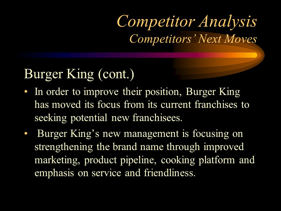 urger king seeking consistency Burger king® terms and conditions - these terms of use govern  rbi also reserves the right to seek all remedies available at law and in equity  to the greatest extent consistent with applicable law.