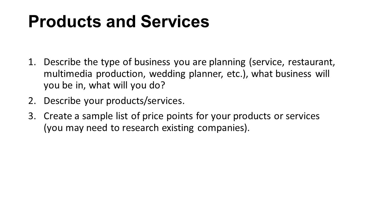 Clothing Retail Store Business Plan Sample