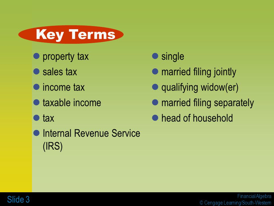 7 INCOME TAXES 71 Tax Tables Worksheets and Schedules ppt – Sales Tax Worksheets