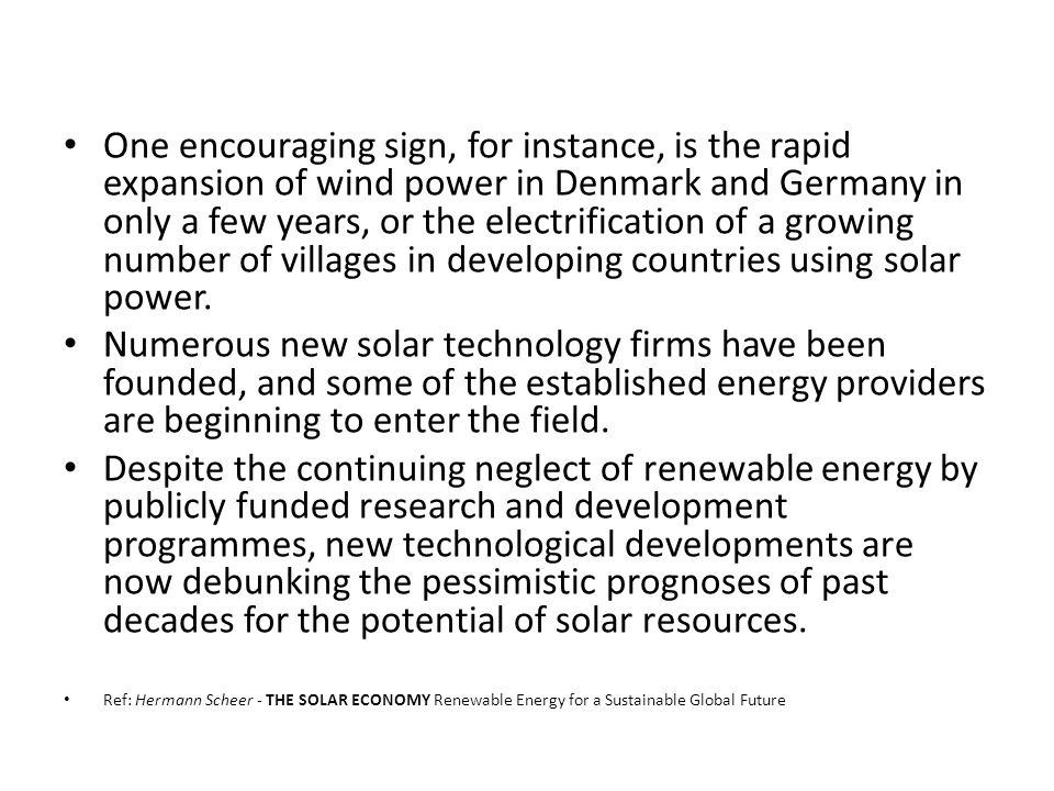 Renewable Energy Sign