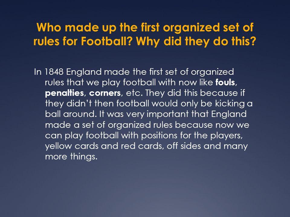 Football History Yasmeen Al Idrissi. - ppt download