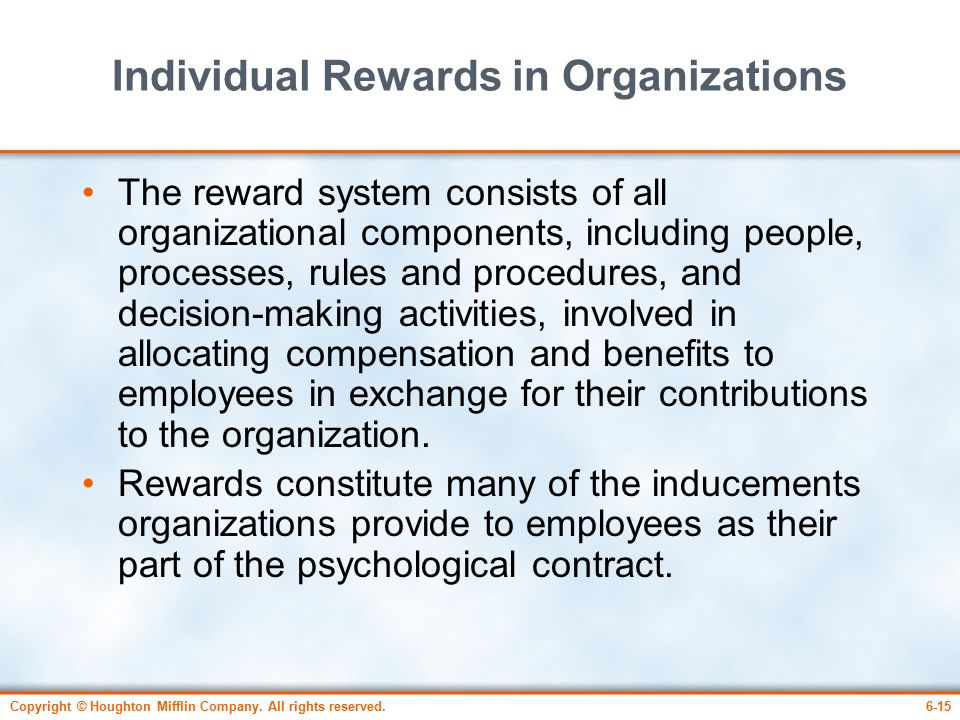 role of individual in organizations Fundraising is one of the major responsibilities of a nonprofit board of directors/ trustees a central concern of the board is ensuring that the organization has the resources necessary to pursue the strategic plan it is also the board's fiduciary obligation to see that resources are properly used most important, boards are.