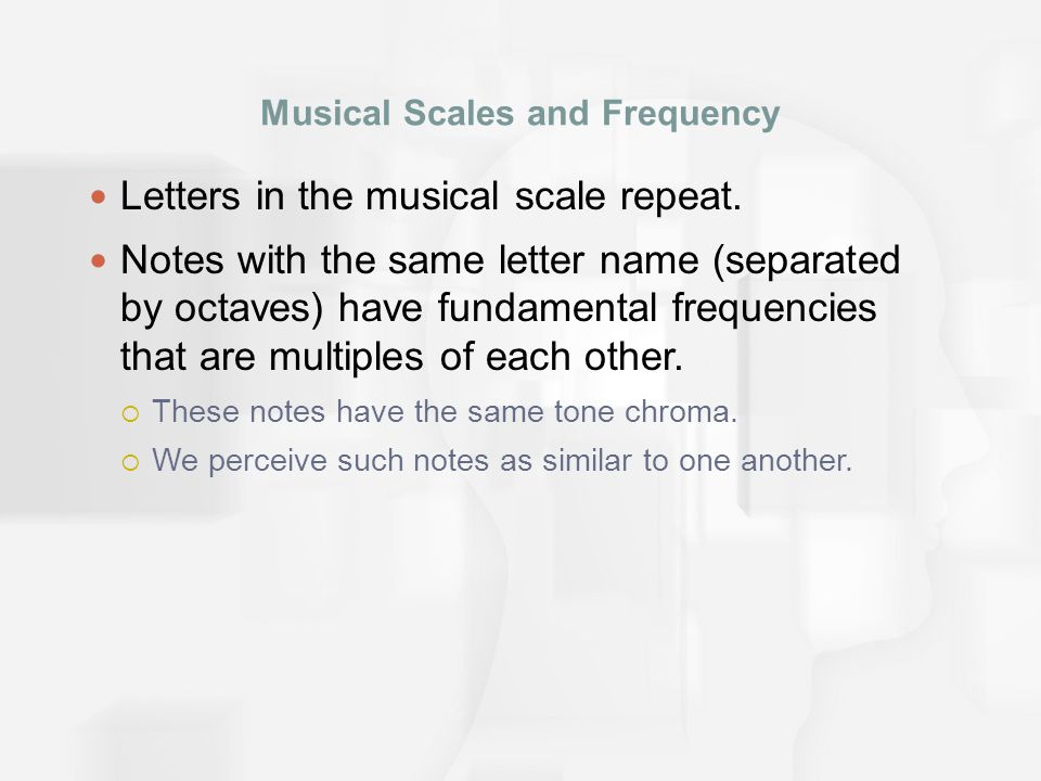 Musical Octaves  Letters