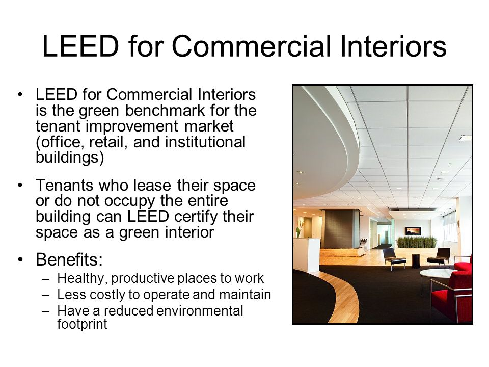 Heather keil energy law spring ppt video online download for Leed benefits