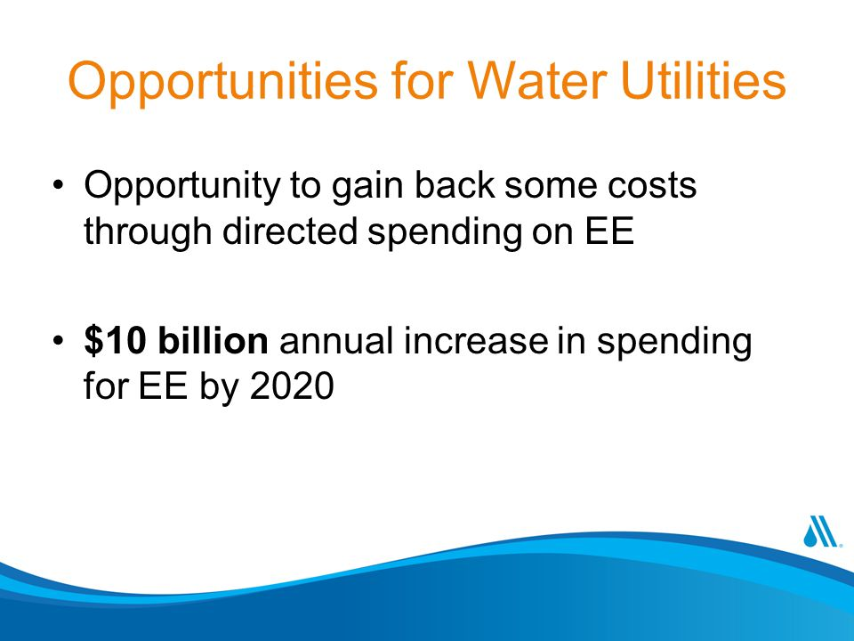 Opportunities for Water Utilities