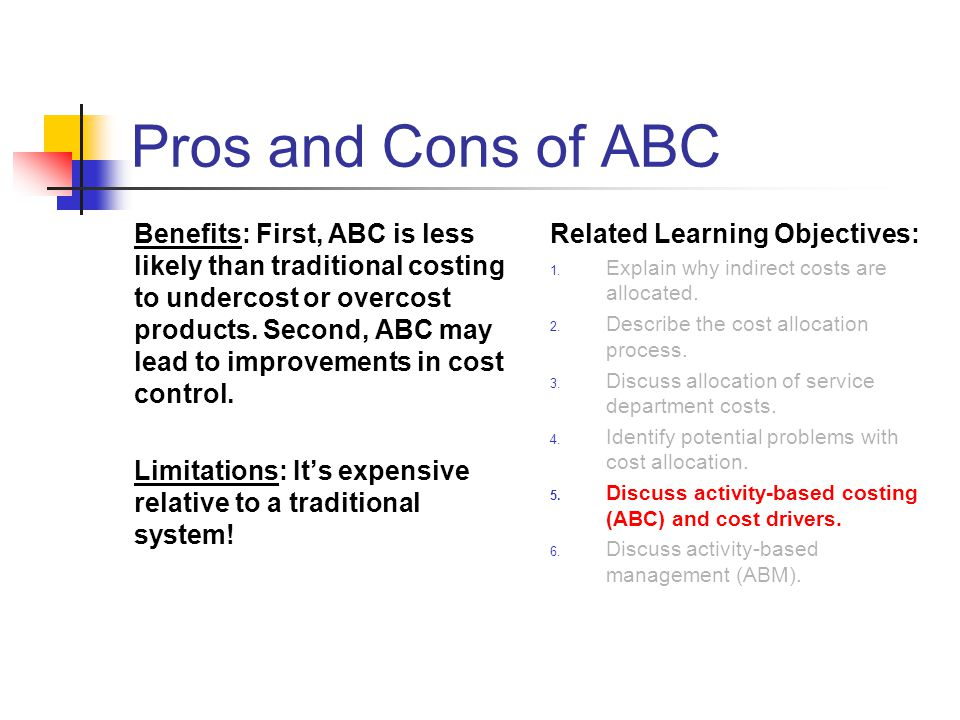 Pros and Cons of ABC