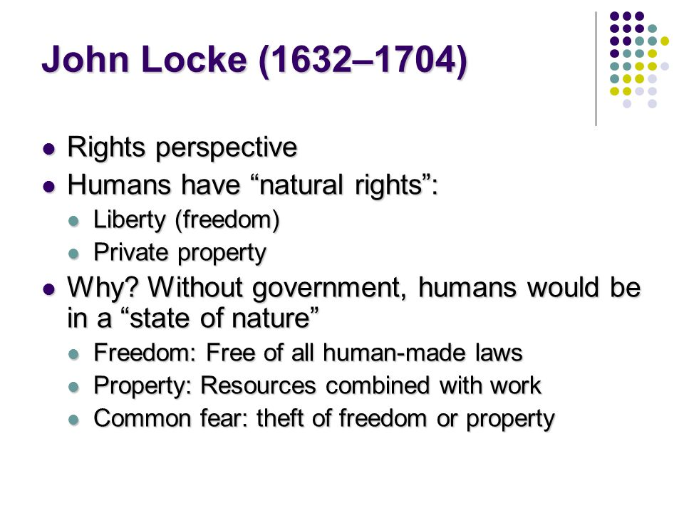 john locke private property essays John locke property rights essay john locke's theory of property: problems of interpretation 1 mar 1980 john locke's theory of property.