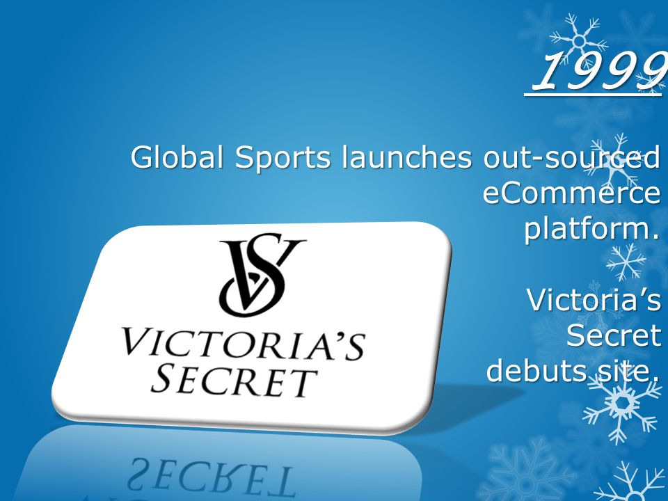 1999 Global Sports launches out-sourced eCommerce platform