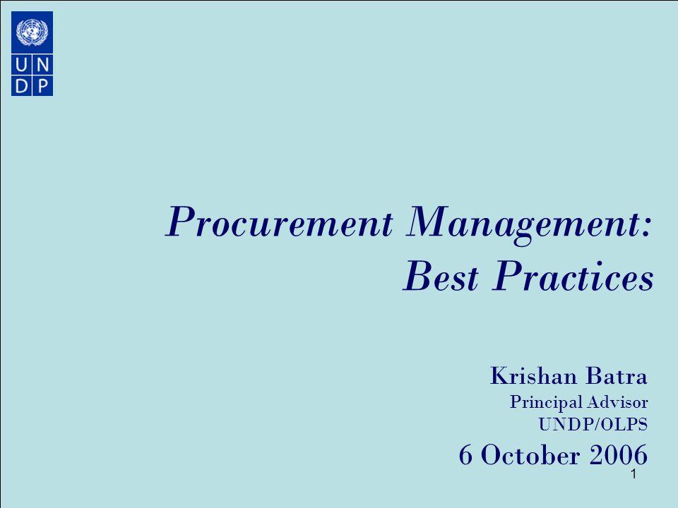 procurement management best practices ppt download