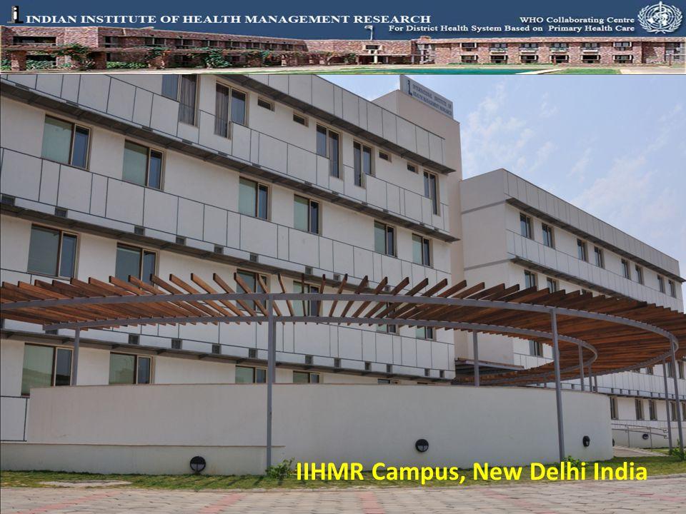 IIHMR Campus, New Delhi India