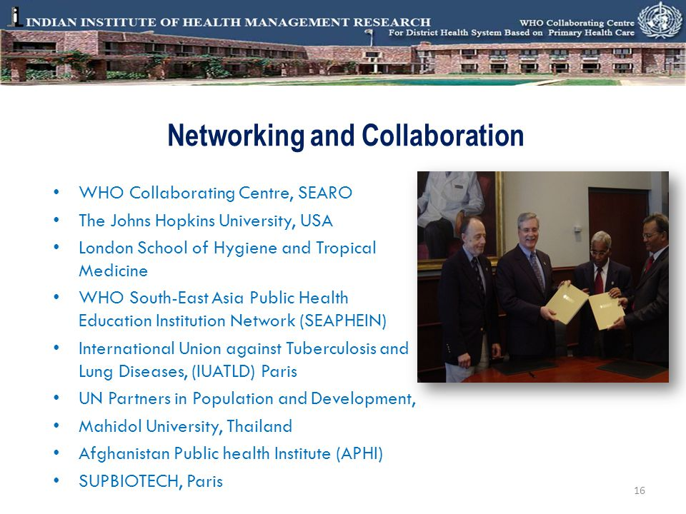 Networking and Collaboration
