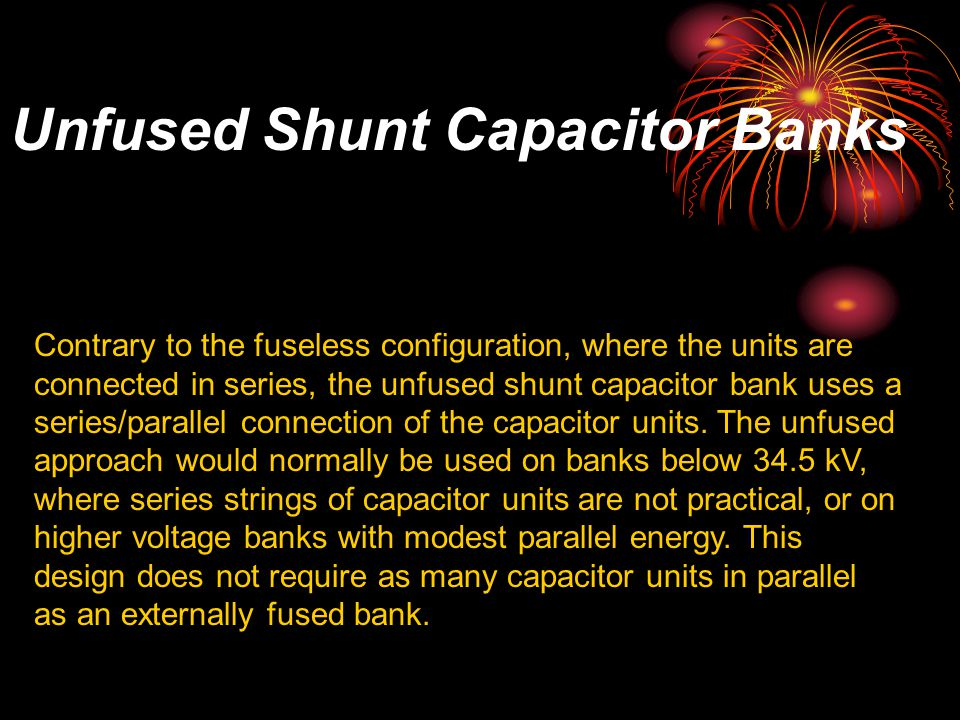 shunt capacitor bank fundamentals and protection Protective relaying:  third edition retains the fundamentals of protection relays and power system protection while  such as capacitor bank protection,.