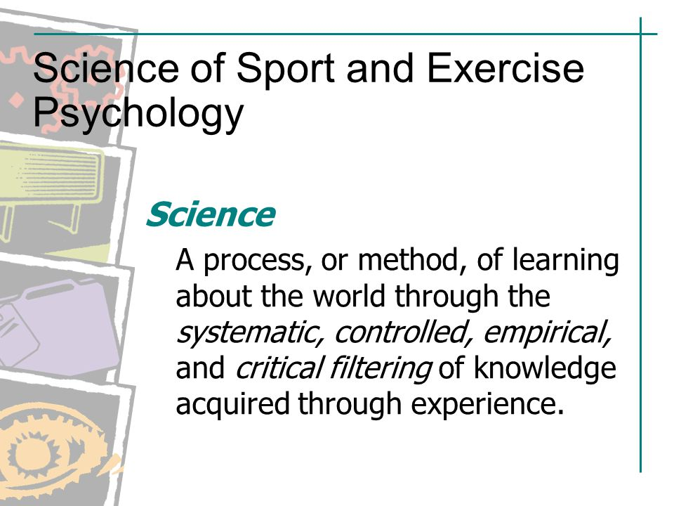 Sport and exercise psychology a case study approach