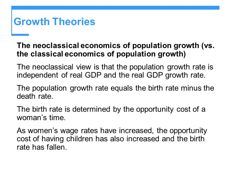 classical theories of economic developm Theories of development ppt newer models often draw on various aspects of these classical theories economic development theory.