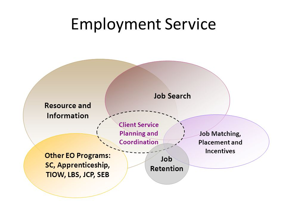 Employment Service Job Search Resource and Information