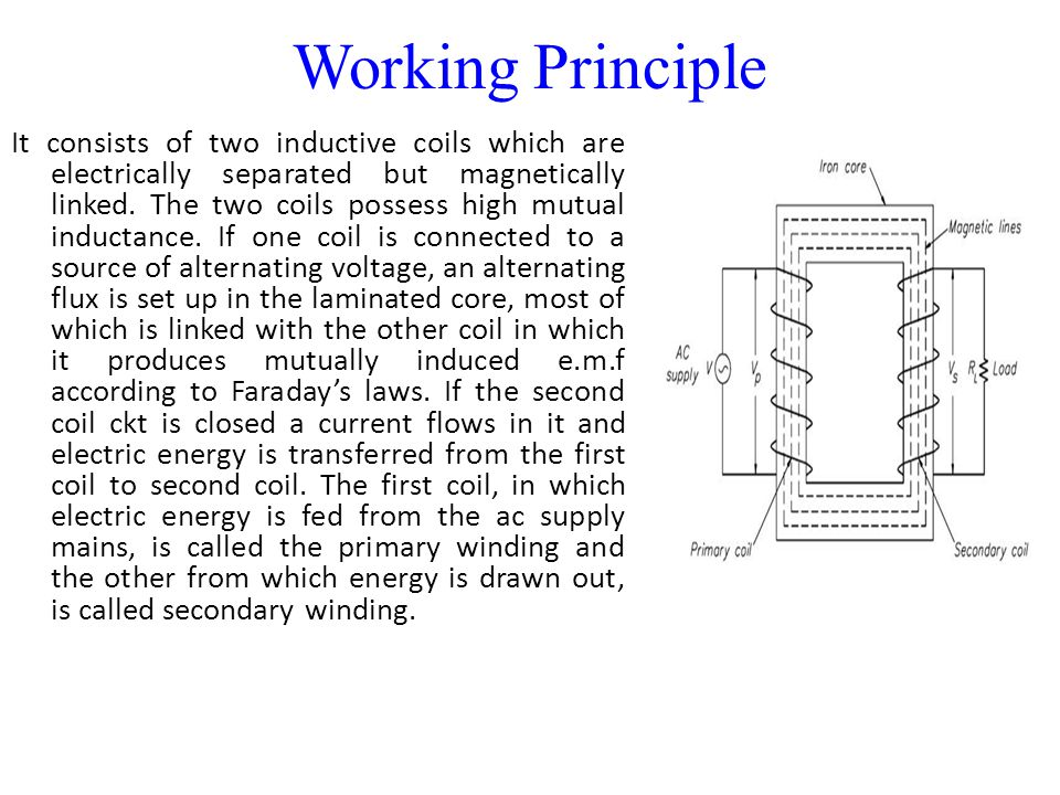 Electric Iron Working Principle ~ Transformer ppt video online download