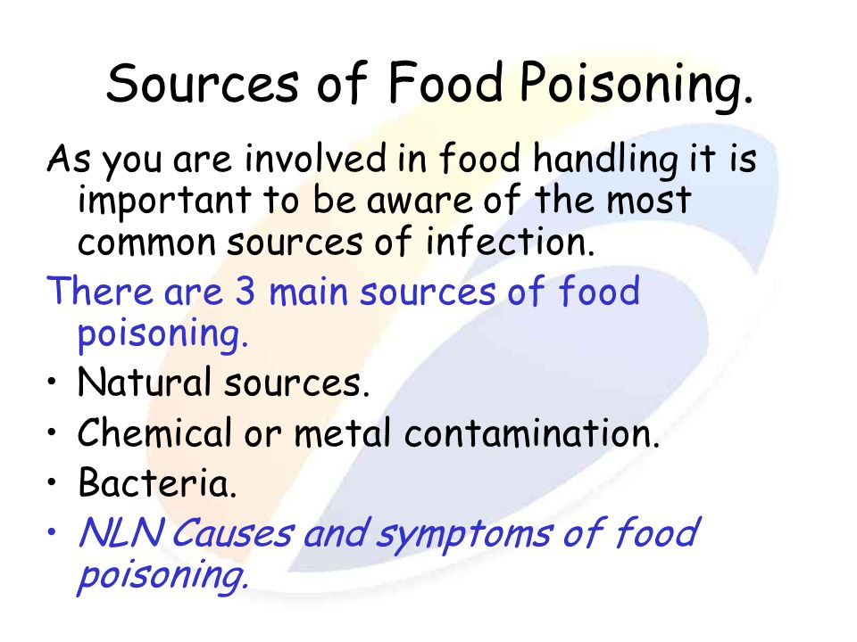 Cans Food Poisoning