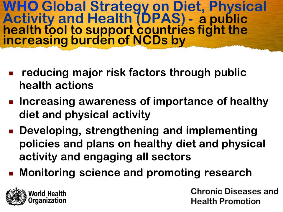 Nutrition, Physical Activity, and Obesity