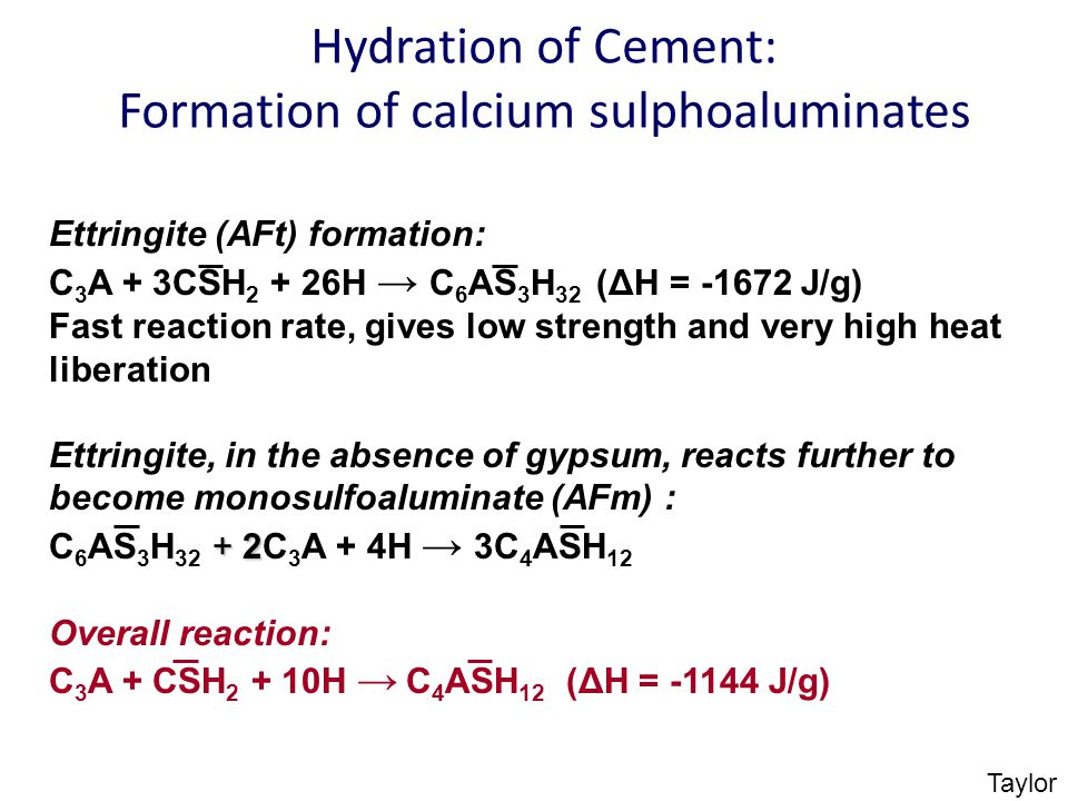 Cement C3a C4af And Hydration In : Lime one of the oldest manufactured building materials
