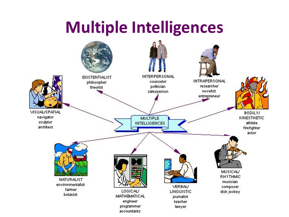 application of multiple intelligence theory in Essay about theory of multiple intelligences and intelligence has different types of intelligences gardner suggest that individuals are not only scholastically intelligent but are intelligent in seven other ways, such as, interpersonal, intrapersonal, linguistics, musical, mathematical and kinesthetic.