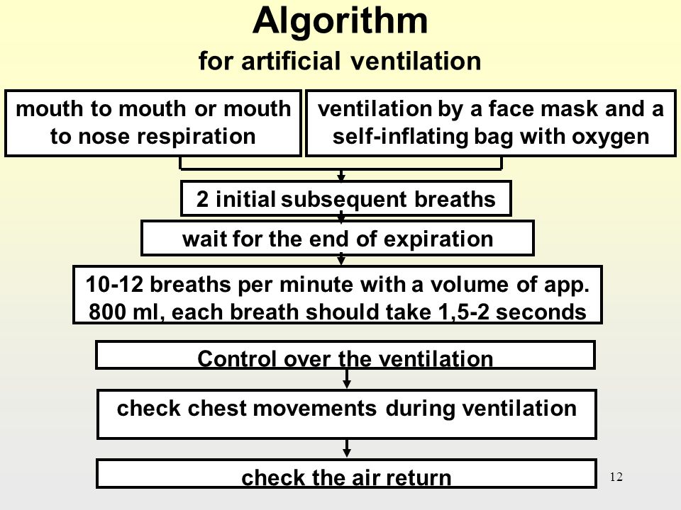 First Aid Procedure for Artificial Respiration: Mouth to Mouth and Mouth to Nose Methods