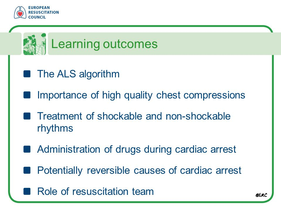 Learning outcomes The ALS algorithm