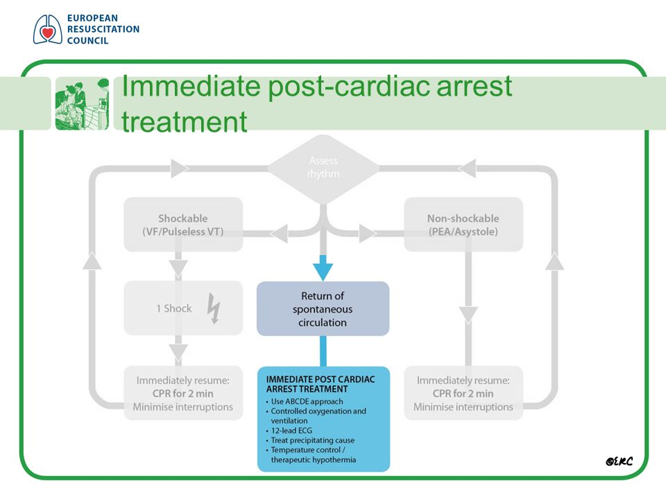 Immediate post-cardiac arrest treatment