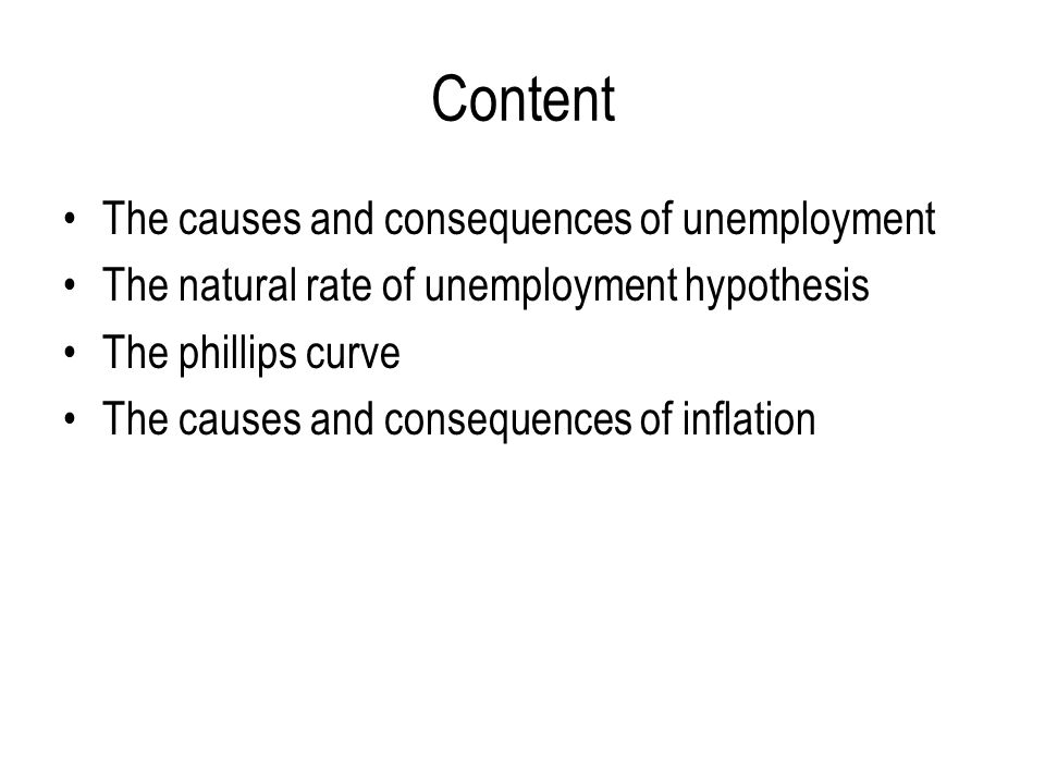 the causes and consequences of unemployment 2 essay Transcript of wwii causes and consequences     almost no unemployment.