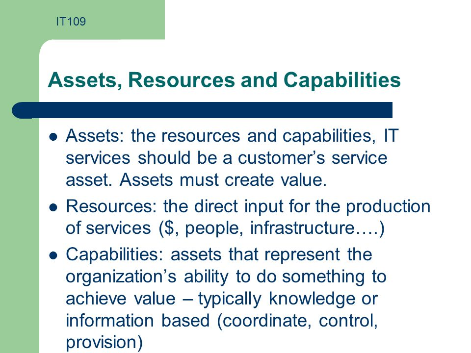 atts resources and capabilities essay