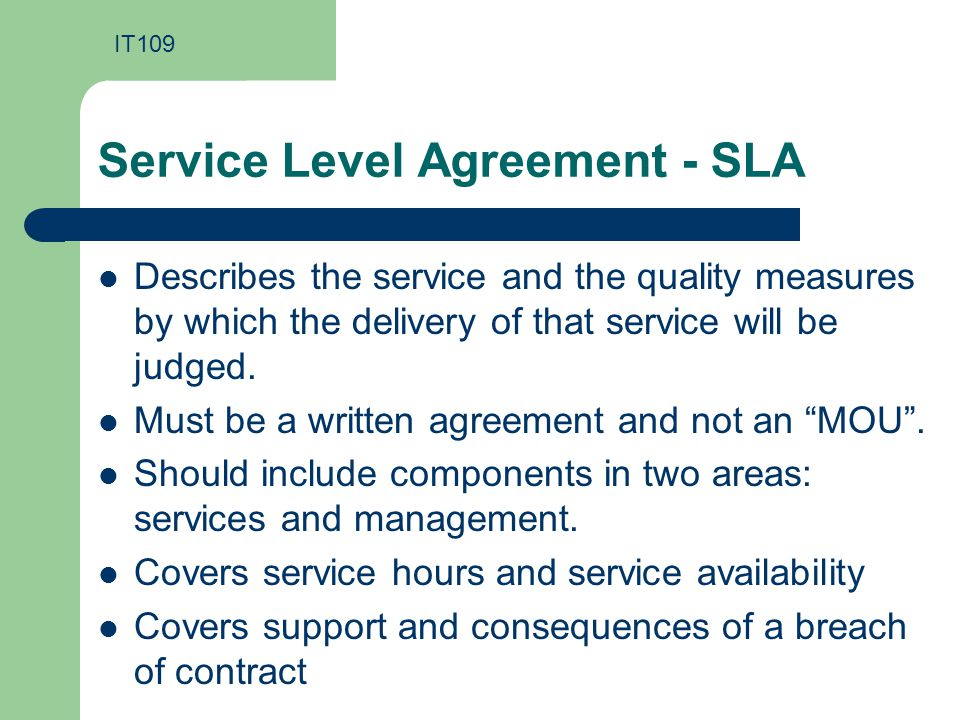 Managed Services Agreement Template