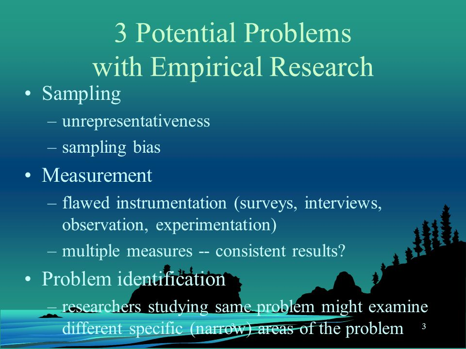 Organizing Your Social Sciences Research Paper: The Research Problem/Question