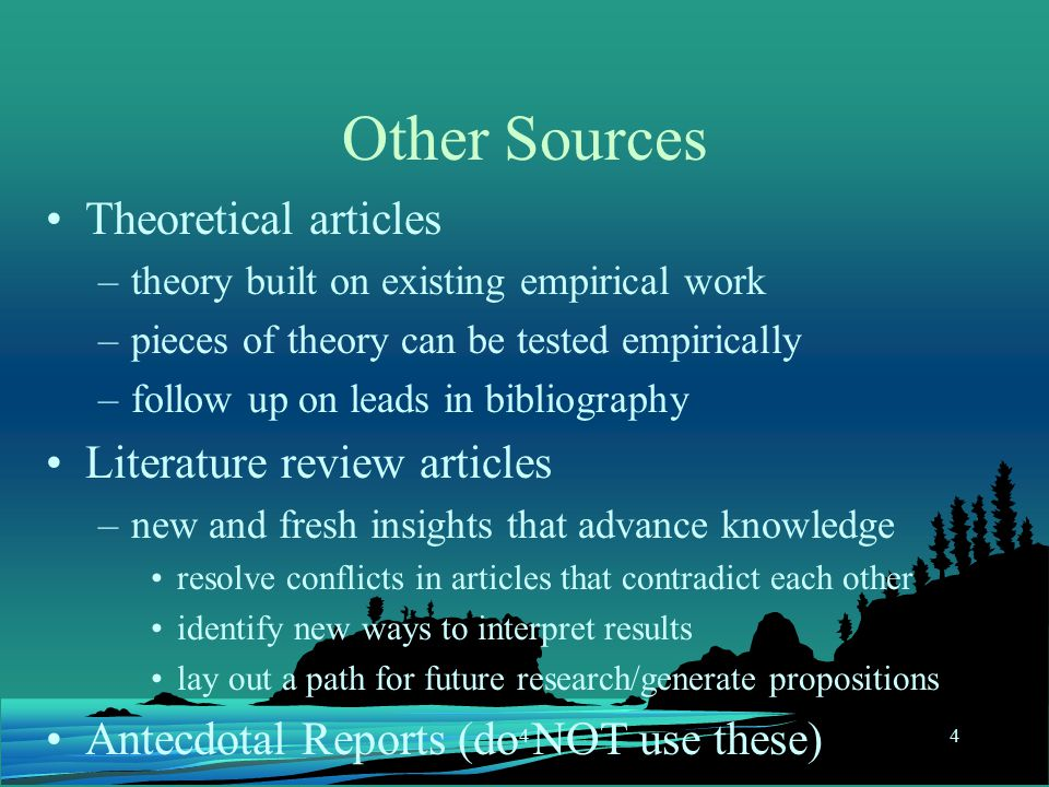 literature review in research study When reviewing observational studies/qualitative research: world cancer research fund / american institute for cancer research systematic literature review manual.