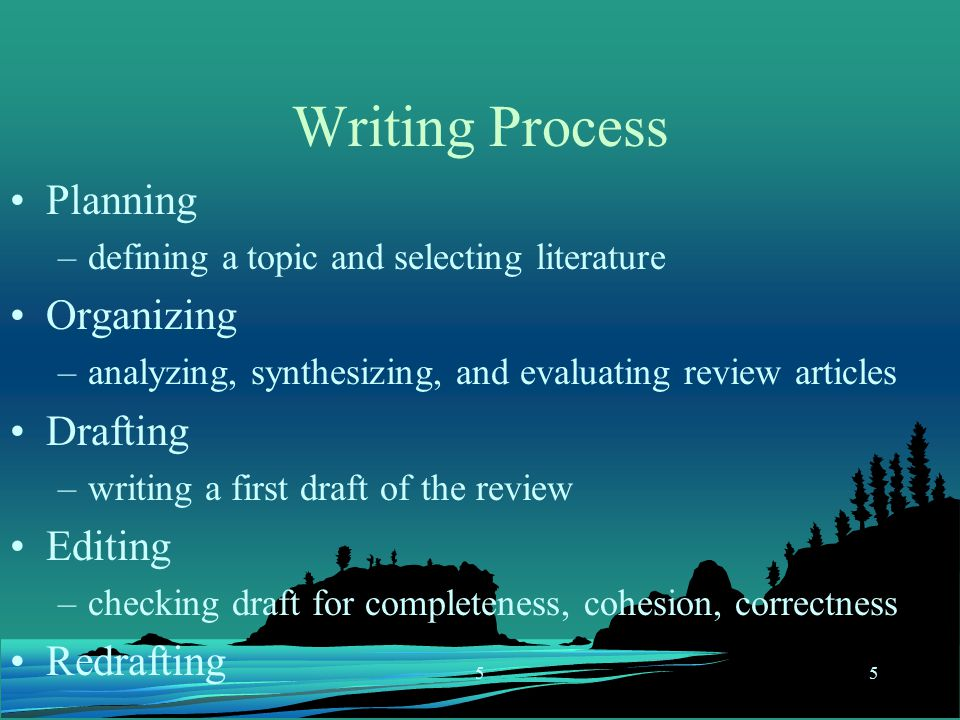draft of literature review