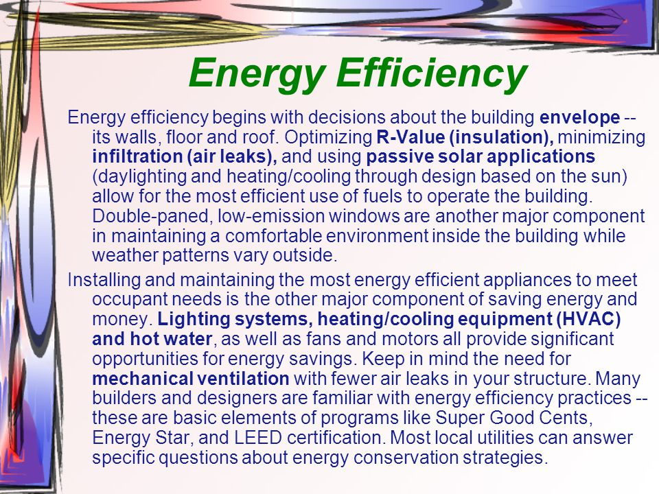 Eco design xi eco architecture ppt video online download for The most energy efficient windows