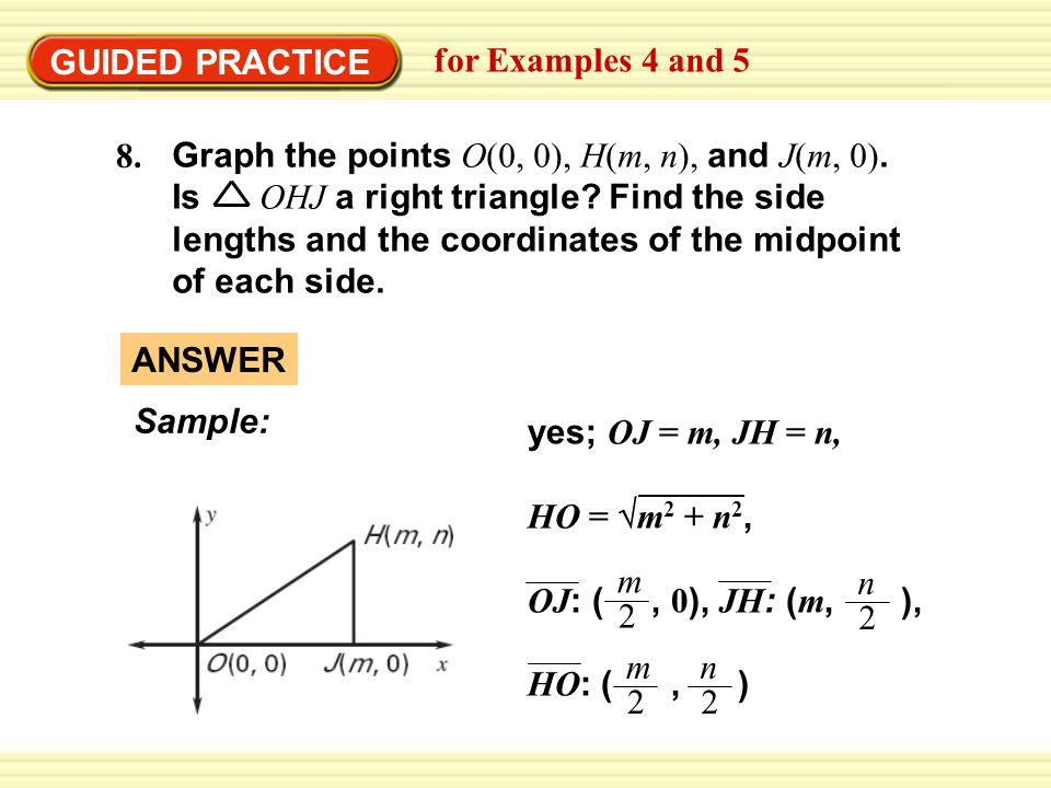 GUIDED PRACTICE for Examples 4 and