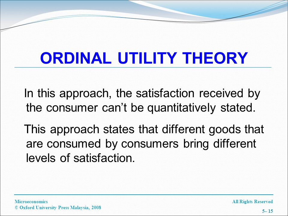 Utility and value