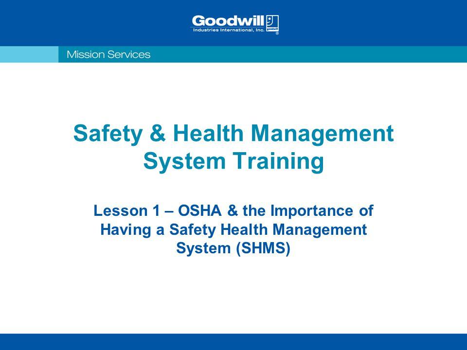 safety management basic