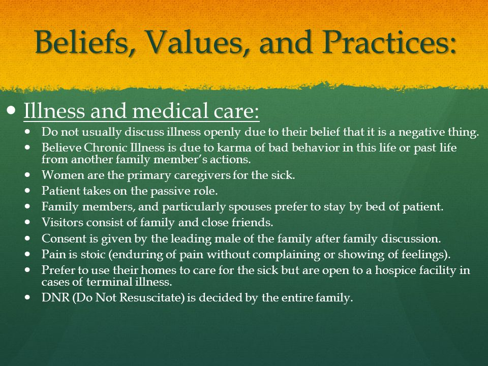 the values and beliefs of families Rituals and family strength the element of choice in carrying on traditions allows family members to express their values and beliefs about the event and how it will be celebrated by use of traditions, the family expresses its beliefs about how decisions are made.