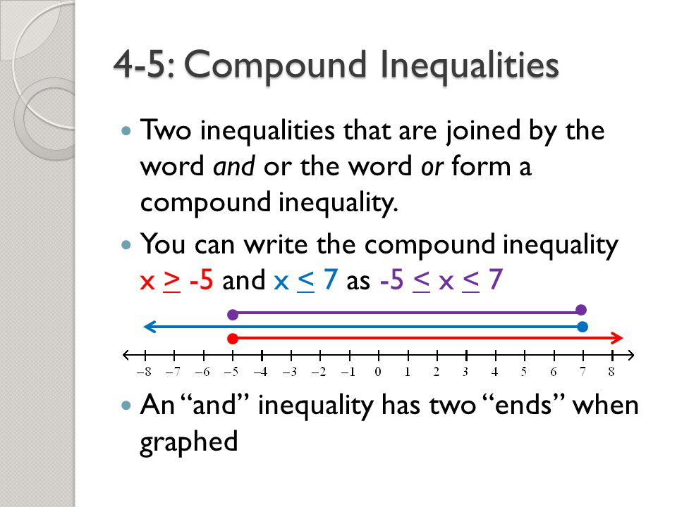 Writing Inequalities to Represent Situations
