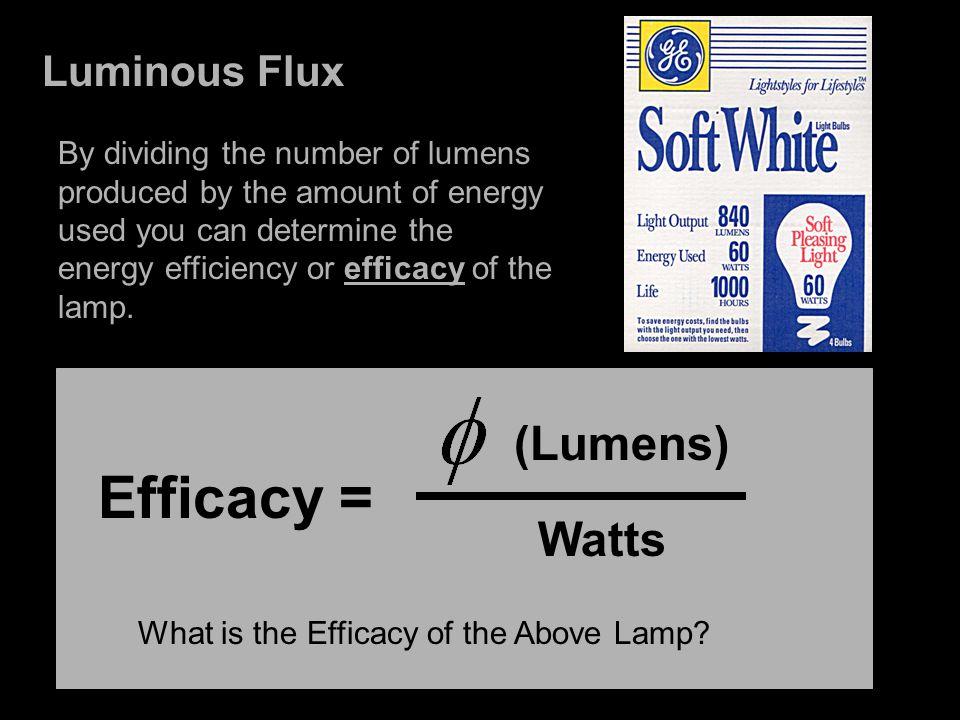 Light Quantity Lighting Metrics Luminous Flux Illuminance