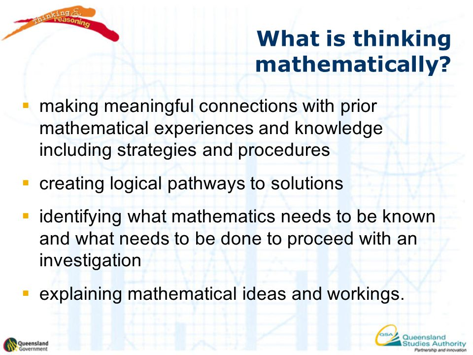 What is thinking mathematically