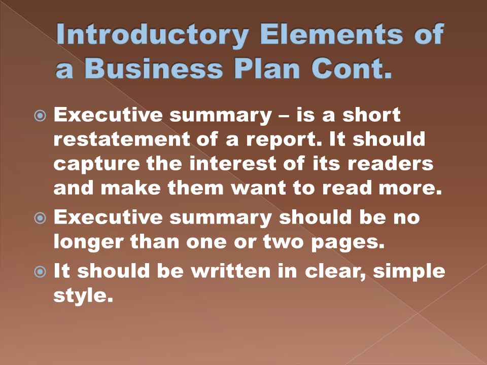 BUSINESS PLAN How Do You Make A Business Plan?