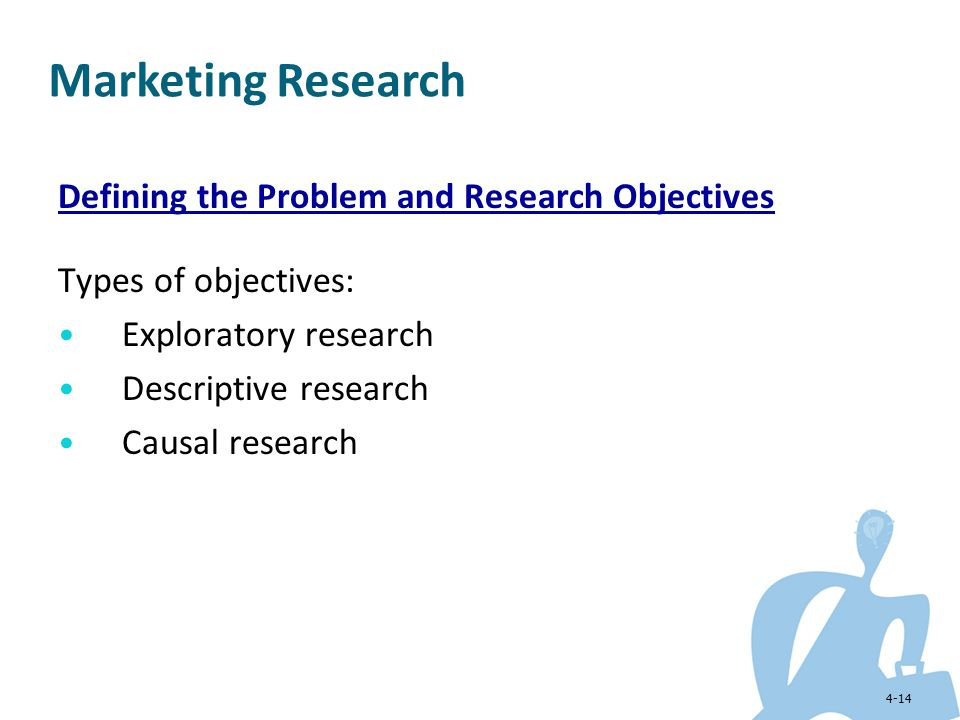 marketing research objectives The application of the scientific method in searching for the truth about marketing research objectives to the firms marketing research.