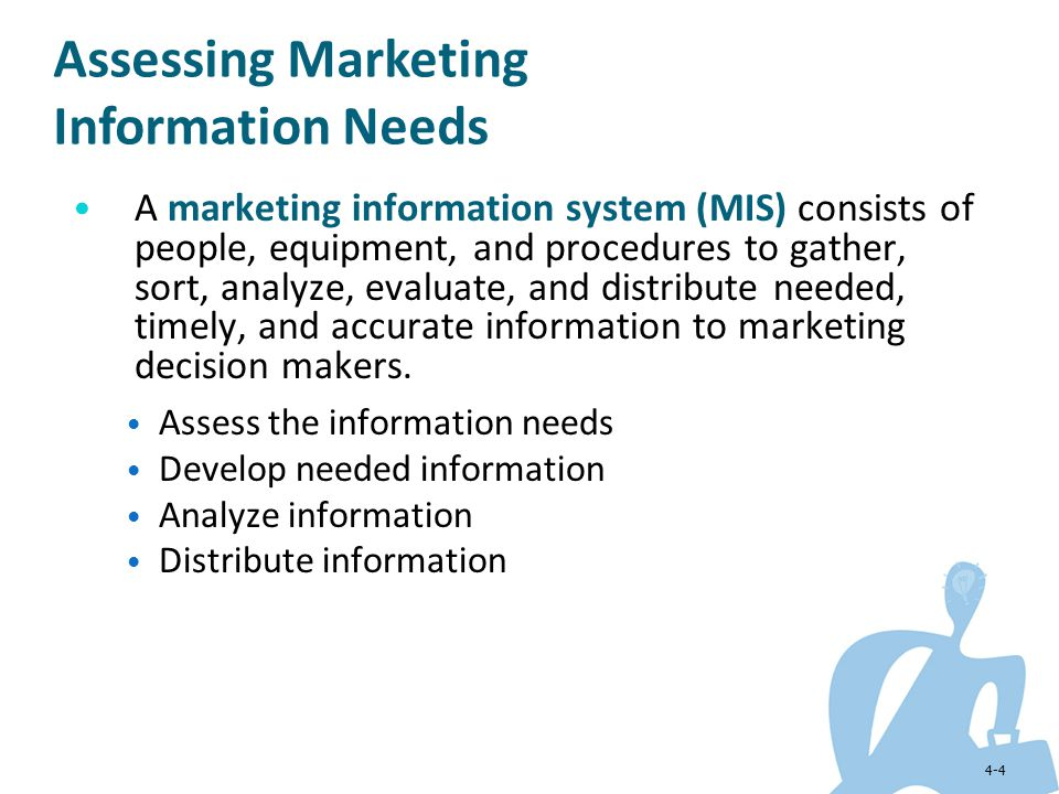 Assessing Marketing Information Needs